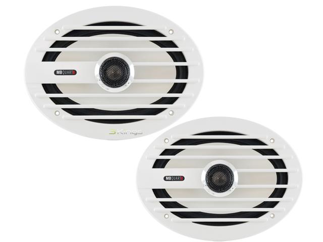 MB Quart NKF-116 6.5-Inch 100W 2 Way Marine Speakers 2 Pairs