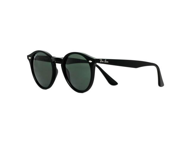 7899955240 Ray Ban RB 2180 601 71 Black Round Unisex Sunglasses 49mm - Newegg.com
