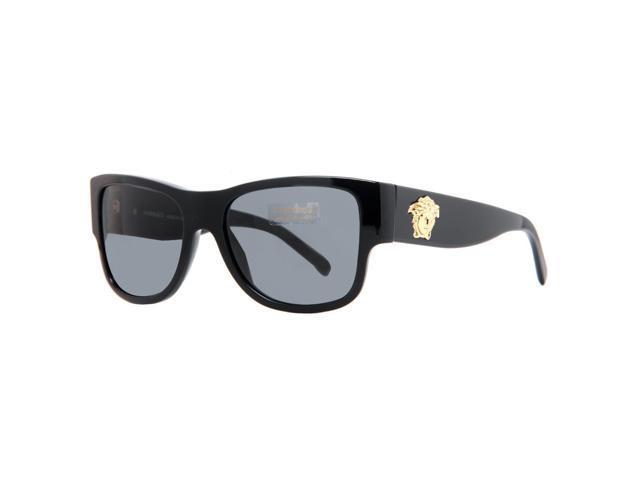 c79ec23973 Versace VE 4275 GB1 81 Black Men s Polarized Square Sunglasses ...