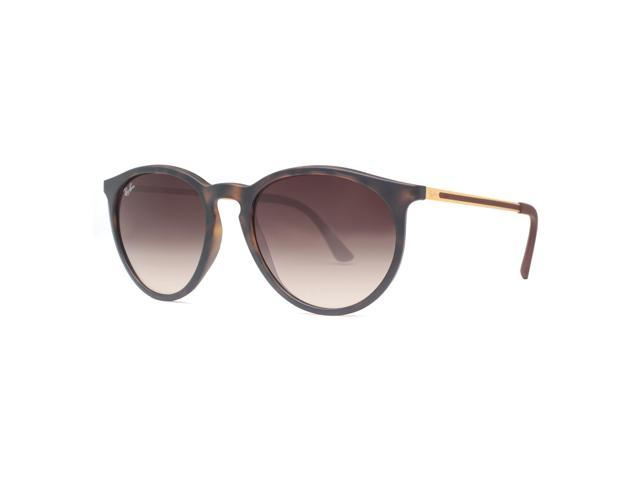 ea5a0b99db Ray Ban RB4274 865 13 53mm Erika Tortoise Brown Gradient Round Sunglasses