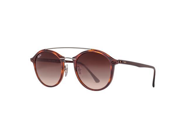 e50871b99e106 Ray Ban RB4266 620113 Tortoise Brown Gradient Round Sunglasses ...
