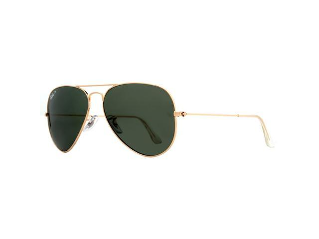 1019eebb4d7 Ray Ban Aviator Polarized Sunglasses RB 3025 001 58 62mm ...