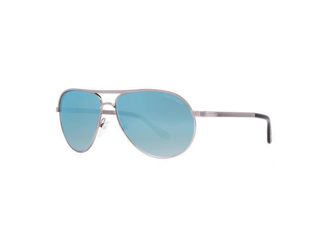 c90036ed03c Tom Ford Marko TF144 14X Light Ruthenium Blue Mirror Men s Aviator  Sunglasses