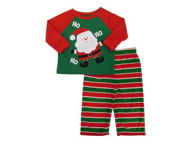 55ff65ad134d Babies R Us Infant Boys Santa Claus Christmas Pajama Set 18m ...