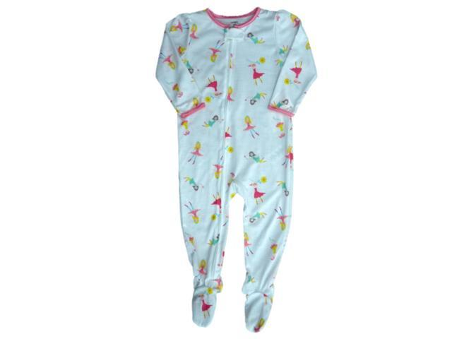 Carters Girl Infant Toddler Girls Fairy White Blanket Sleeper Footed  Pajamas 4T bf5d3e3b3