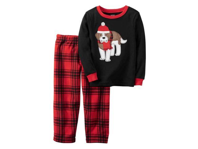 Carters Unisex Child 2-Piece Snug Fit Cotton Christmas PJs Ho Ho Ho Black 3T eb78acb4a