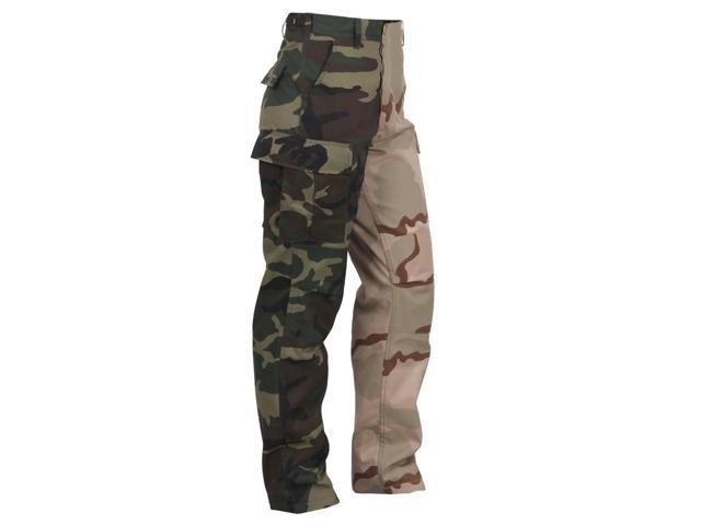 Rothco Two-Tone Camouflage BDU Pants b9643116a48