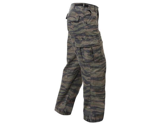 Vintage Vietnam Era Army Fatigue Pants in Tiger Stripe Camo - XS ... 438001427ca