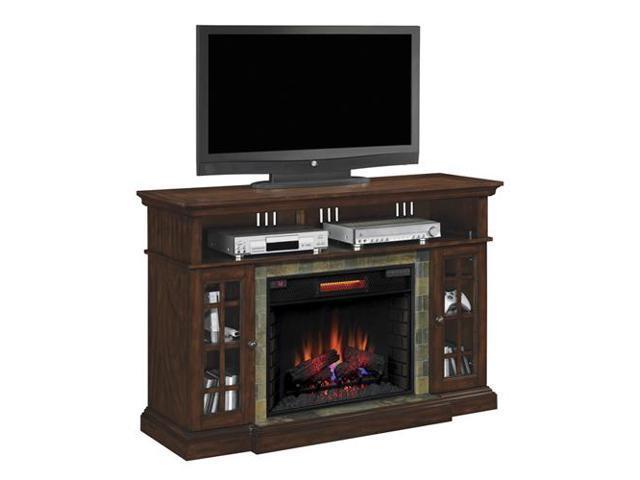 Bell O Media Mantel Fireplace Av Stand Newegg Com
