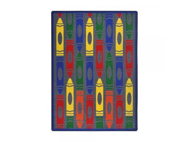Playful Patterns Children S Area Rugs Jumbo Crayons Rectangle