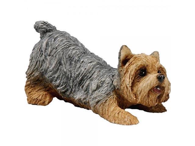 Sandicast Small Size Yorkshire Terrier Sculpture