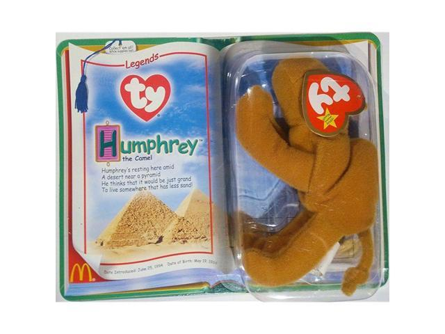 a20de3e4173 McDonalds Collectible TY Beanie Babies Humphrey the Camel Legends Stuffed  Animal Plush Toy - Light Brown