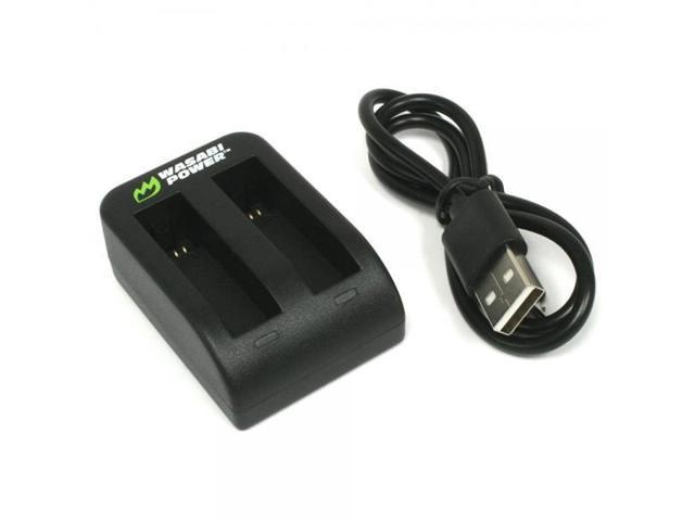 Wasabi Dual Usb Battery Charger For Garmin Virb Ultra 30 And 010 01529