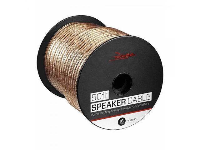How To Install Rocketfish Speaker Cable : rocketfish 50 39 spool speaker cable ~ Vivirlamusica.com Haus und Dekorationen