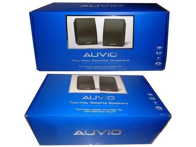 AUVIO 2 Way Satellite Speakers In Each Package