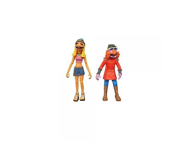 Diamond Select Toys The Muppets: Floyd Pepper & Janice Select Action Figure  (2 Pack) - Newegg com
