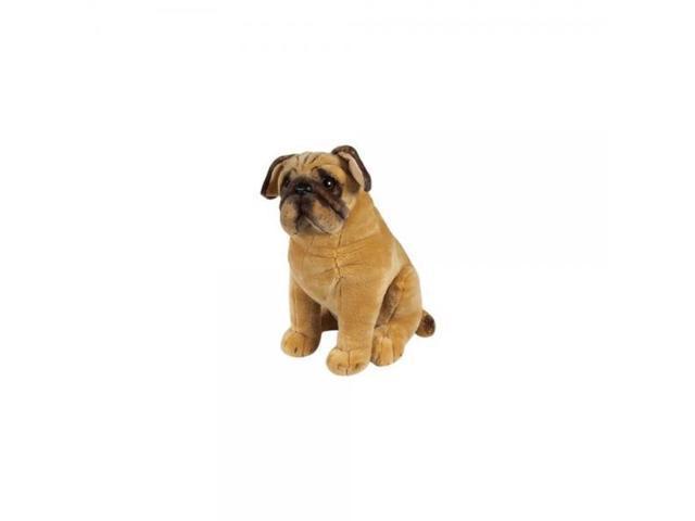 Melissa Doug Pug Dog Lifelike Stuffed Animal Newegg Com