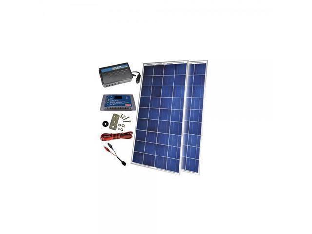 Sunforce (38528) Coleman 300 Watt Back-Up Power Kit with  Controller/Inverter - Newegg com