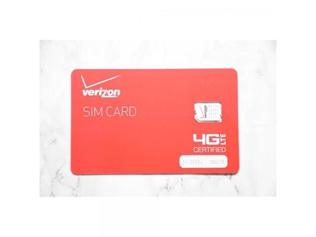 Verizon Wireless prepaid activation kit with $40 plan universal nano size  SIM card  - Newegg com