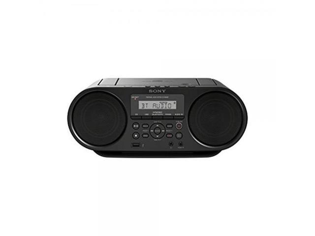 Sony Bluetooth Portable Digital Tuner AM/FM Radio Cd Player Mega Bass  Reflex Stereo Sound System Plus 6ft Aux Cable to Connect Any Ipod, Iphone  or Mp3