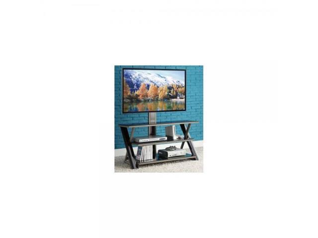 Whalen 3 In 1 Flat Panel Tv Stand For Tvs Up To 50 Newegg Com