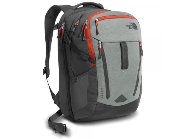 31a937d8dda The North Face Surge Backpack Sedona Sage Grey / Asphalt Grey ...