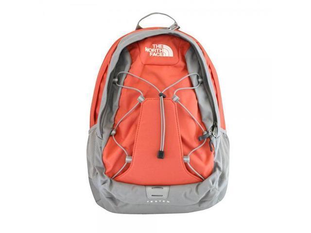 The North Face women s Jester Laptop Backpack BOOK BAG Emberglow orange c506de4ac