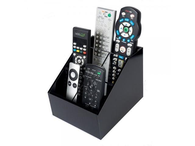 Acrylic Tv Remote Control Holder Organizer Fits Remotes Phones Kindle Eyegles