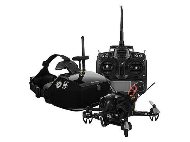 SWAGTRON SwagDrone 210-UP RTF Ready To Fly Racing Drone Kit With FPV  Goggles - HD Night Vision Camera 5 8Ghz Transmitter Carbon Fiber Body 500m  Long