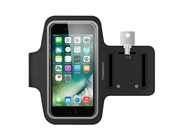 innovative design 4a05b 9d86d Maxboost Armband [Original+] For Large Phone iPhone 8 Plus, 7 6 6S Plus, X,  Galaxy S9 S8 Plus, Note 8 5 2 (Fits Otterbox Defender Lifeproof case) ...