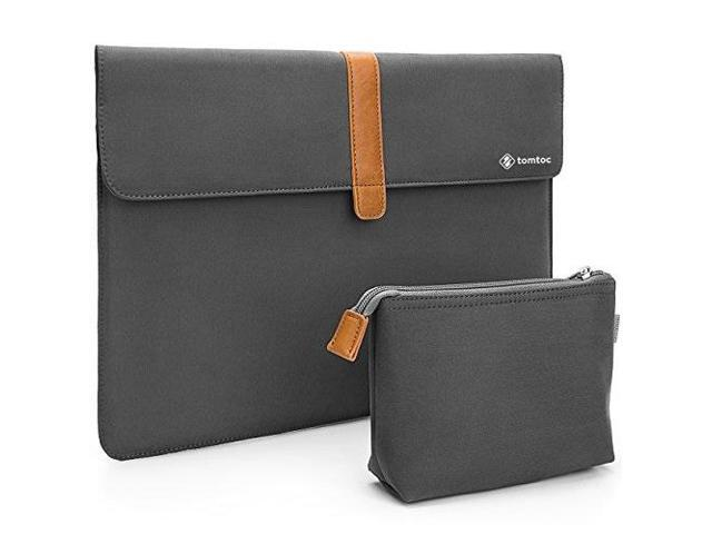 reputable site 66b57 e5869 tomtoc slim laptop sleeve for apple 13 inch new macbook pro a1706 a1708 |  dell xps 13 | surface pro 5/4/3, envelope sleeve carrying case with ...