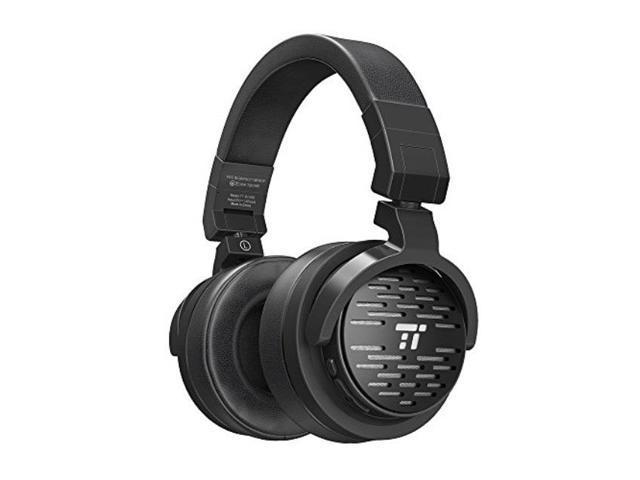 taotronics bluetooth headphones with 50mm largeaperture drivers, deep bass,  memory foam ear pad wireless headphones, 25 hour playtime, on ear