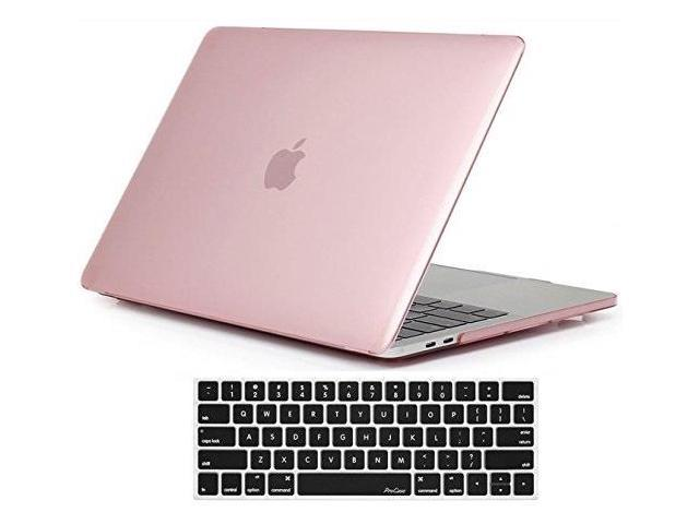 official photos f25be 13480 macbook pro 15 case 2018 2017 2016 release a1990/a1707, procase hard case  shell cover and keyboard cover for apple macbook pro 15