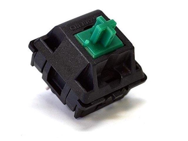 cherry mx switches diy mechanical keyboard pcb mount green, 10 pcs -  Newegg com