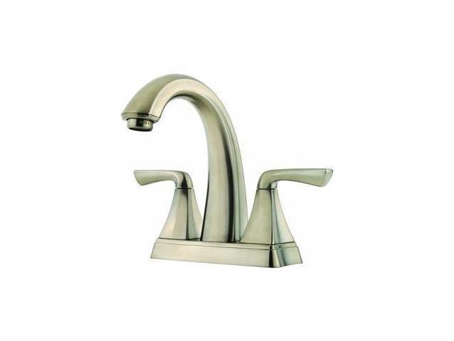 7 Faucet Finishes For Fabulous Bathrooms: Pfister F-048-SLKK Selia 4-Inch Centerset Bathroom Faucet
