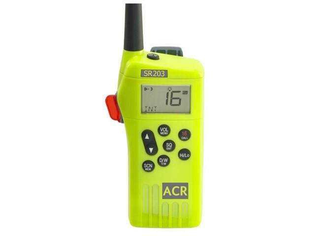 ACR Electronics SR203 GMDSS Survival Radio SR203 Survival Radio Kit  Multi-Channel VHF Handheld Emergency Radio - Newegg com