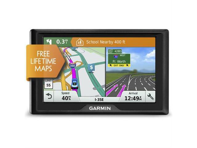 "Garmin Drive 51 Lm 5/"" Gps Navigator With Driver Alerts USED GOOD PRICE"