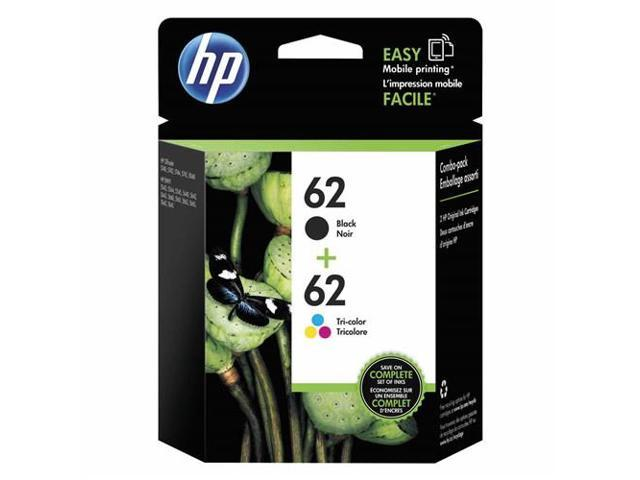 HP 62 Ink Cartridge - Combo Pack - Black/Cyan/Magenta/Yellow