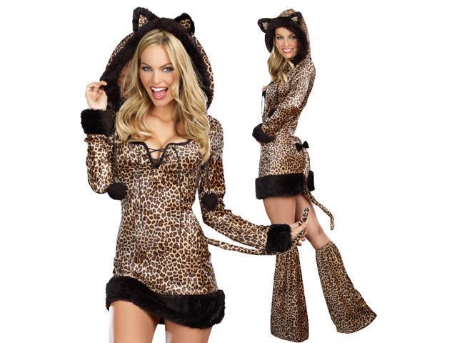 Sexy Cheetah Leopard Jungle Cat Plus Size Halloween Costume  sc 1 st  Newegg.com & Sexy Cheetah Leopard Jungle Cat Plus Size Halloween Costume - Newegg.com
