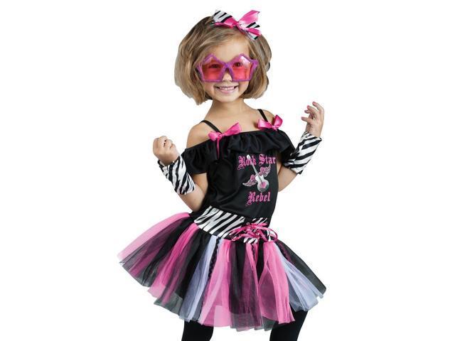 kids 80s pop rock star toddler retro halloween costume