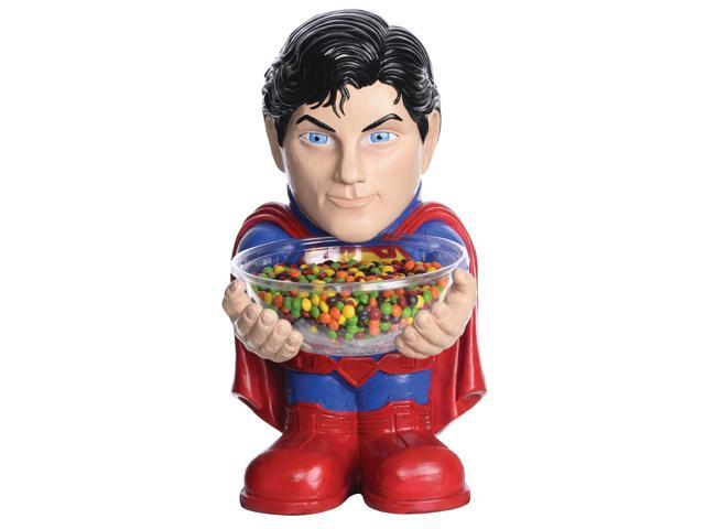 Superman Halloween Party Decor Candy Holder Bowl
