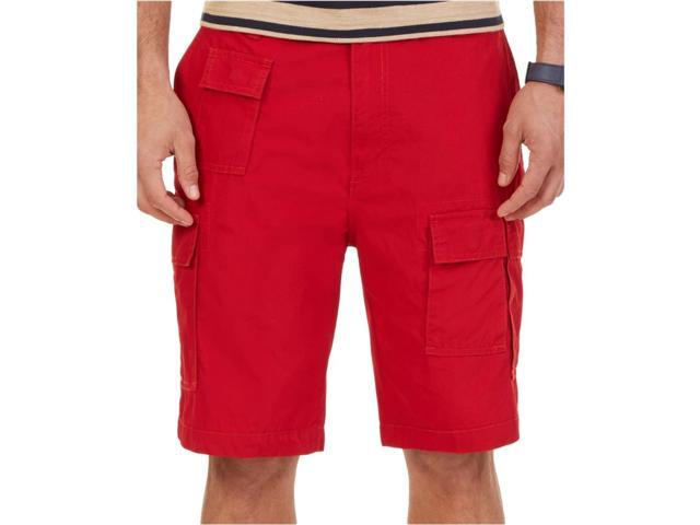 b07814fe94 Nautica Mens Modern Fit Flight Casual Cargo Shorts nautred 30 ...