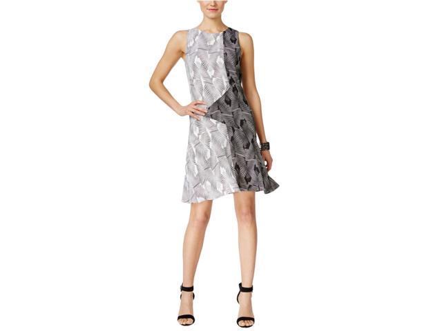 dd7ddf71 Vince Camuto Womens Printed Sheath Dress richblack 8 - Newegg.com