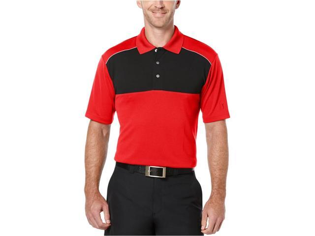 8124a35a PGA Tour Mens Colorblock Golf Rugby Polo Shirt lollipop L - Newegg ...