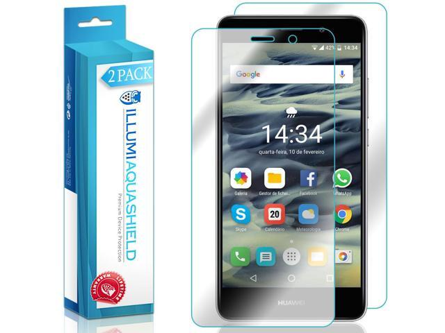 Huawei Ascend XT2 Screen Protector + Back Cover [2-Pack], ILLUMI AquaShield  Full Coverage Back and Front Screen Protector for Huawei Ascend XT2 HD
