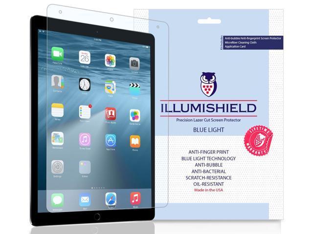 apple ipad pro 10.5 screen protector [1-pack], illumishield blue ...