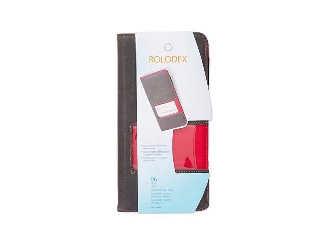 Rolodex Identity Collection Fabric Business Card Book 96 Card