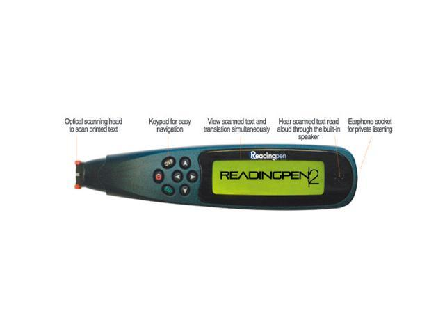 Brand New Wizcom WRP2 ReadingPen 2 Reading Assistive Scanning Pen