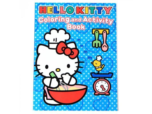 Sanrio Hello Kitty Kids Educational Coloring And Activity Book96 Pages
