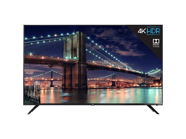 "TCL 55R617 55"" 4K UHD HDR Dolby Vision ROKU Smart TV"